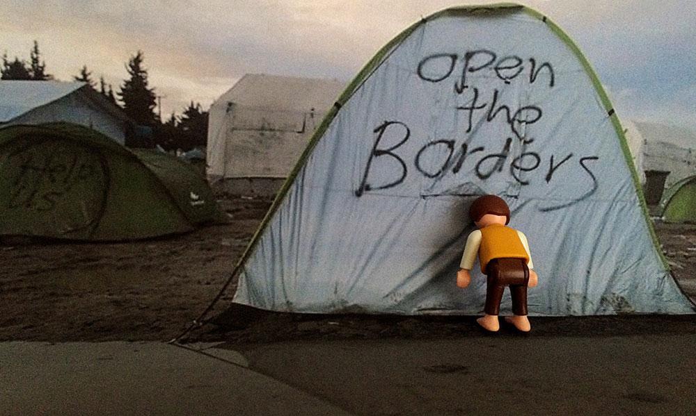 Η φράση «ανοίξτε τα σύνορα», όταν στην Ειδομένη συνέβαινε το... αδιαχώρητο από χιλιάδες εγκλωβισμένους πρόσφυγες, είχε την ιδιαίτερη αξία της.