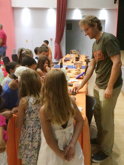 Παρουσίαση Γρίφων στο Ροδίων Παιδεία (Σεπτέμβριος 2016)
